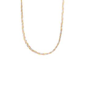 Cadena De Oro Florentino 14k 47cm Cal 25-025gdbdei3f47f