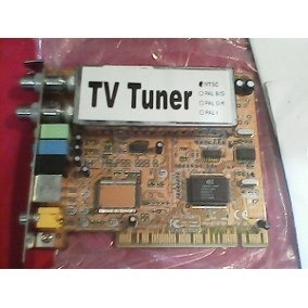 Tarjeta Tv Tuner Ntsc Pci Manual Y Cd