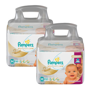 Kit Fralda Pampers Premium Care Top 188 Unidades