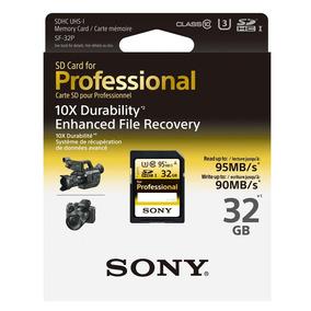 Tarjeta De Memoria Sd-hc Profesional Sony 32 Gb