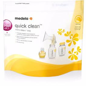 Saco Esterilizador De Microondas Quick Clean Medela 5 Sacos
