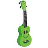Ukulele Soprano Mahalo U Smile Verde Con Estuche