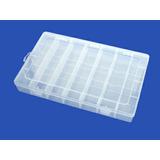 Caja Transparente Organizador 28 Divisiones 35x22x5 Cms
