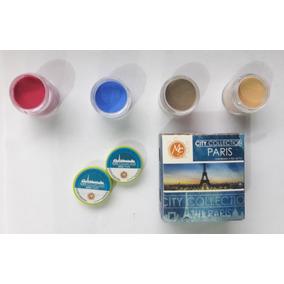 Polvo Acrílico 4 Pzas, Uñas Mc Nails , Colección City Paris