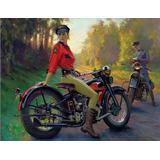 Lienzos Para Cuadro Decorativos Harley, Indian Motocicletas