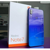 Celular Xiaomi Redmi Note 7 64gb Global Azul Envio Imediato
