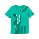 Carters T-shirt Mc Verde Agua Dino 18m Eg21