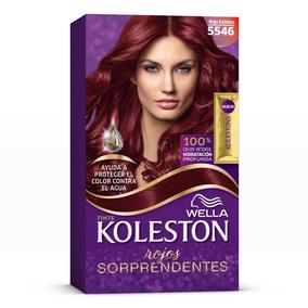 Wella Koleston Coloración En Crema Para Cabello, 5546 - Rojo