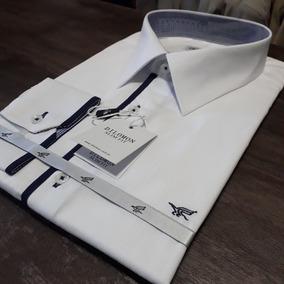 Camisa Branco Dilomon Slim Fit