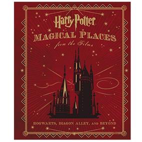 Livro Harry Potter Lugares Magicos Em Inglês