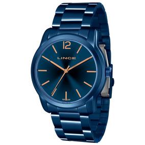 a02411c0745 Relógio Lince Feminino Azul - Relógios De Pulso no Mercado Livre Brasil