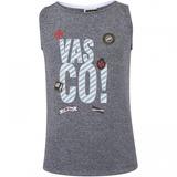 Camiseta Regata Do Vasco Da Gama Patch Feminina - Infantil 7f24c04ee7930
