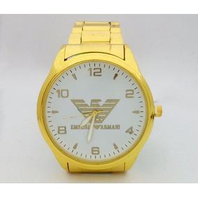 51273a4ec5c59 Relogio Emporio Armani Ra 5932 Dourado Esportivo - Relógios De Pulso ...