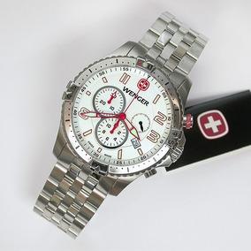 Reloj Suizo Wenger Squadron Chrono 77059