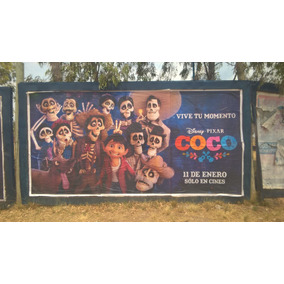 Afiche De Cine Original Coco Pixar Animacion Calaveras