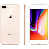 Iphone 8 Plus 64gb Ouro Tela 5.5 Ios 12 4g Câmera 12mp + Nf
