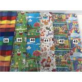 Papel De Presente Varias Estampas - Pacote Com 40 Folhas
