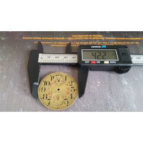 Caratula Elgin Para Reloj De Bolsillo Cronografo Original