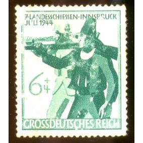 Alemanha Reich 1944 Atirador Provincial Tirolês Veja + Selos