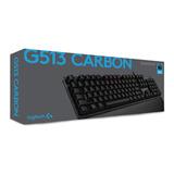 Gratis!!! Teclado Mecánico Logitech G513 Carbon Romer