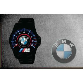 653ae686d4e Relógio De Pulso Personalizado Logo Bmw M3 M4 M5 M6 I8 Preto. R  84 90