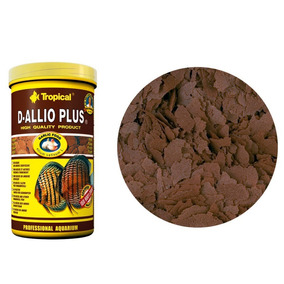 Ração Fortificada Com Alho Tropical D-allio Plus Flakes 20g