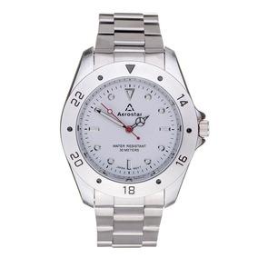 Reloj Aerostar S1002-w Movimiento Japonés, Caballero-blanco