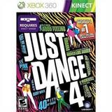 Just Dance 4 Xbox 360 Usado