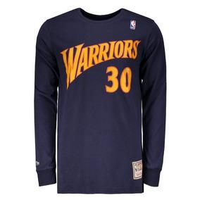Camiseta Mitchell   Ness Nba Golden State Warriors Curry 84f5129e42a