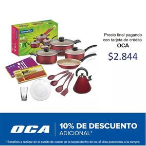 Kit De Cocina Ollas Completo 53 Piezas Tramontina