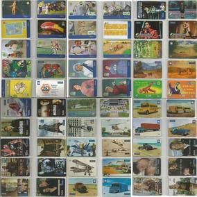 Cartão Telefônico Coleção 660 Cartões