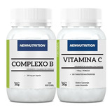 Kit Complexo B 120 Caps +vitamina C 120 Tabsnewnutrition