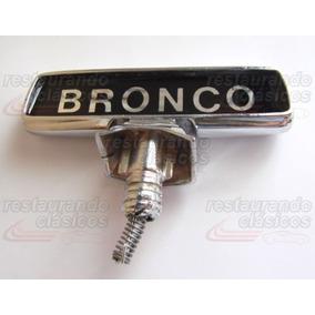 7457fdfa5f Emblemas Bronco en Mercado Libre México