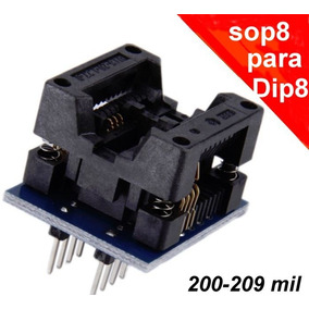 Adaptador Sop8 Para Dip8 200-209 Mil