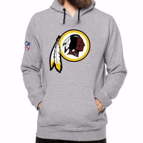 Blusa De Moletom Washington Redskins - Blusa Índio Nfl Dtg ee56e376d75