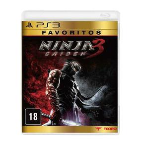 Ninja Gaiden 3 Ps3 Mídia Física Original Lacrado Original