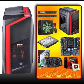 Pc Cpu Gamer Fx 6300 + Memória 8 Gb + Gtx 550ti + Hd 1tb