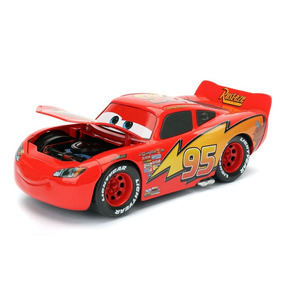 Cars 3 Lightning Mc Queen 20 Cm Escala 1:24 Todo Metal Jada