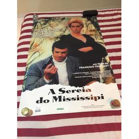 Pôster De A Sereia Do Mississipi Truffaut