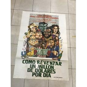 Antiguo Afiche De Cine Original Con Mr T---envio Gratis