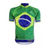 f0aa57f003 Camisa Ciclismo Masculina Mauro Ribeiro Brasil Special Mtb