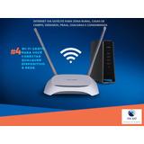 Internet Via Satélite Para Casa De Campo Com Wi-fi Grátis!