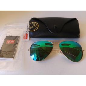 Ray Ban Aviador Verde Agua Degrade - Óculos no Mercado Livre Brasil a4d69fe56b