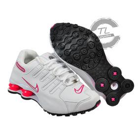 81d37a151aa Nike Shox Feminino Rosa - Tênis Para Academia no Mercado Livre Brasil