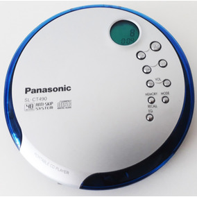 Discman Panasonic (japonês) Sl-ct490 F U N C I O N A N D O