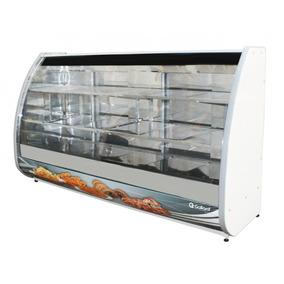 Expositor De Confeitaria Estufa 1800mm Curvo 220v Gallant