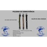 Kit Pulseira De Sobrevivência Paracord