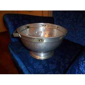 Colador De Aluminio Antiguo. Microcentro-avellaneda.