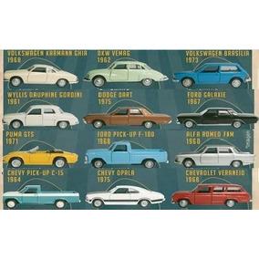 Coleção Completa História Dos Carros Brasileiros Raridade