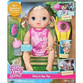Baby Alive Hora Do Passeio Loira- Pronta Entrega